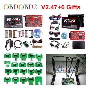Débloqué Aucun jeton RED KESS V2 V5.017 v2.53 ECU Chip Tuning UE en ligne KESS 5,017 4 Led KTAG 7,020 2,23 Tuning Kit Gestionnaire