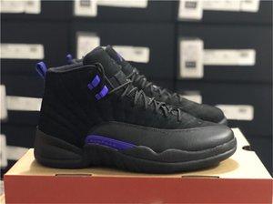 Hot 12 scuro Concord Nero CT8013-005 NakeskinGiordaniaRetro 2020 autentici XII 12s Mens di pallacanestro delle scarpe da tennis con la scatola originale