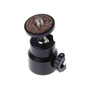 360 giratorio Mini Ball Head soporte del soporte para 1/4 del montaje del tornillo del trípode de cámara DSLR
