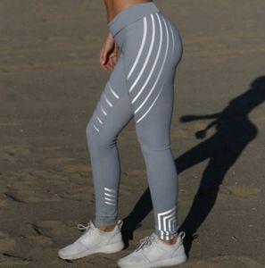 Woman Fashion Yoga Clothes Elastic Quick-drying Leggings Printed Sports Casual Tight Yoga Pants High End Preppy Style Fashion Trendy