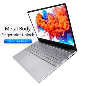 -5257U 16G металлический отпечаток пальцев разблокировки ноутбуков портативный бизнес офис компьютер компьютера 15,6 дюйма SSD игровой ноутбук студентов NetBook