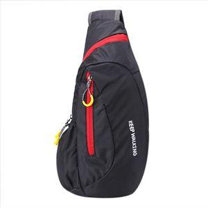 Uomini Femmina Chest Bag Casual Funzionale Funzionario Borsa Fanny Borsa in vita Nylon Impermeabile Phone Bolsas Bolsas Feminina Chest Pack Nuovo