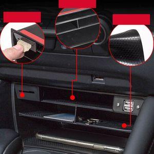 Car Central Control Multifunction Storage box Car Multi-grid Storage Box For 3 Axela 2020 2020 2021 Accessories