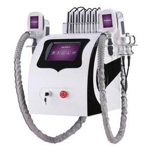 Popüler Yeni Cryolipolysis Yağ Soğutma Zayıflama Makinesi Kriyoterapi Ultrason RF Liposuction Lipo Lazer Makinesi DHL UPS Ücretsiz Kargo