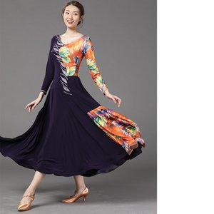 Balo Dans Salıncak Elbise Performans Ballroom Dance Elbise Yeni Waltz Kostüm Modern Dance- LXT2000