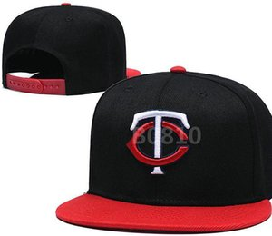 Top Quality Cheap Snapback Twins Cap TC classic bone Baseball Cap Embroidered Team Size Fans Flat&Curved Brim for Adult hat cap a0
