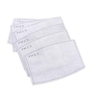 ¡Envío! Máscara PM2.5 libre 5 capas Famask Pad Pm2.pm2.5 Activar Filtro de carbón reemplazable mask1