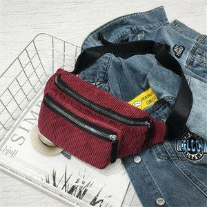 Fashion Men Women Unisex Casual Fanny Waist Pack Bum Bag Adjustable Belt Pouch Travel Money Wallet Cellphone Chest Hip Pack Bags