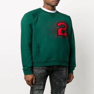 ICONO diseñador sudaderas con capucha para hombre de las mujeres de la manga del suéter del resorte del otoño de ropa de lujo camisas largas de alta calidad de impresión de la letra del punk marca Sudaderas