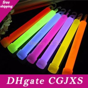 Industrial Grade Glow Sticks Light Stick Camping Glowstick Chemical Fluorescent Party-Lichter zufällige Farbe Led Wireless-Nachtlicht Jk0604