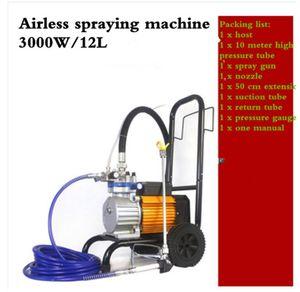 3000W высокого давления New безвоздушного распыления станок безвоздушного распылителя Высокое качество покраски машины