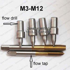 Tunsten forage d'écoulement de carbure M3 M4 M5 M6 M8 M10 M12 forme perçage standard de type tour et du fil formant robinet MKTC #