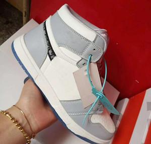 Марка Casual Спортивная обувь для мужчин Женщины Высокая Низкая кожа 1s OG Скейтборд обувь Мужская мода Zapatos Dunk обувь 36-44