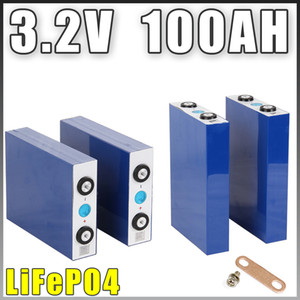 8PCS 3.2V 100AH LiFePO4 Lithium iron phospha Cells Large capacity Motorcycle Electric Car motor batteries 3.2v 90000mAh
