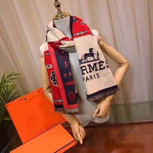 inverno lenço clássico lenço impresso macio de alta qualidade cachecol de lã, outono e inverno luxo xales para homens e mulheres 180 * 70