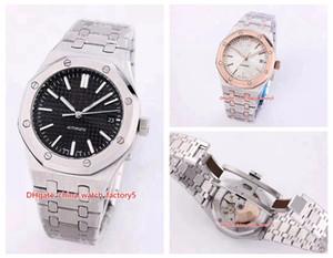 20 Стиль высокого качества Unisex 37mm Royal Oak Offshore 15450 Transparent Asia 2813 Механизм автоматического женские часы Женские часы