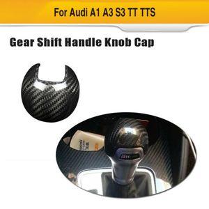 Karbon Elyaf Vites Topuzu Merkez Kapağı Seti İçin Audi A1 A3 S3 14-19 TT TTS 15-17