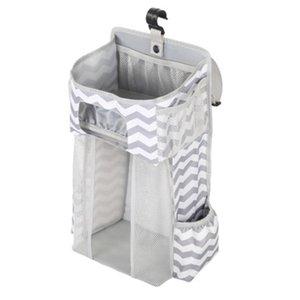 Sacs Lit bébé Hanging portable Berceau Organisateur de rangement pour Essential couches pour bébés Sac de stockage Berceau Literie de bébé Diaper Caddy
