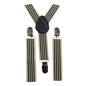 More Color For Choose New Kids Unisex Clip-on Suspenders Elastic Y-Shape Adjustable Braces Colorful For 1-8 year old 1D19