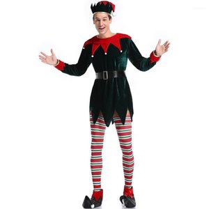 Christmas Holiday Party Costumes Man Annual Stage Performances Theme Cosplay Clothes Men Festival Fashion Clothes Mens