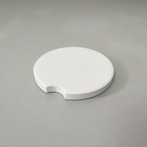 120pcs Sublimation Blank Car Ceramics Coasters 6.6*6.6cm Hot Transfer Printing Coaster Blank Consumables Materials Coasters RRA3499
