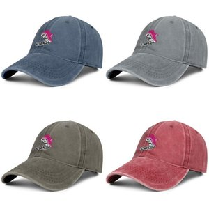Men Women defeat Cancer Fashion Denim Baseball Cap Cool Washed Dad Hat Adjustable Vintage Ball Care for breast cancer woman Think Pink