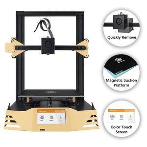 Stampante 3D SIMAX3D Ferro-M1 Pro grado industriale desktop di fai da te di alta precisione di grandi dimensioni 3d schermo della stampante Touch Dual pista hotend