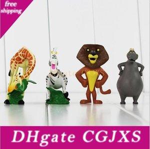 Madagascar Alex Hippo Gloria Melman Marty PVC Action Figure coleccionáveis Modelo Toy For Kids presente Frete Grátis Frete Grátis Ems