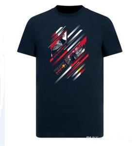 F1 Formula One Racing Puma à manches courtes T-shirt Costume Team Racing 2019 Costume Col rond Casual T séchage rapide Haut séchage rapide à court Sleev