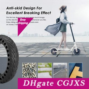 Neumáticos para Xiaomi M365 Scooter eléctrico Monopatín Hollow Solid Tires Amortiguador de amortiguación de goma para Xiaomi Accesorios