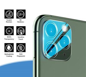 Cgjxscamera Lens Protector New Coming Designer For Iphone 11 Pro Max Clear Tempered Glass Nti -Scratch Anti -Fingerprint Lens Protector