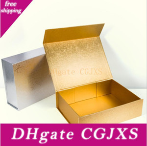 속옷 의류 화장품의 경우 하이 엔드 일반 선물 장난감 상자 두꺼운 두꺼운 종이 접기 딱딱한 상자 자기 폐쇄 포장