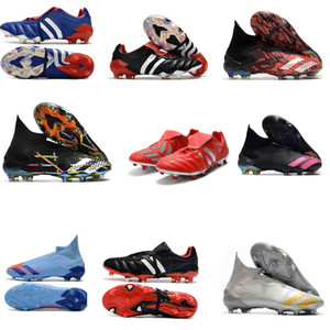 المفترس جودة الهوس أحذية الرجال لكرة القدم المفترس 20+ Mutator هوس المعذب FG كرة القدم المرابط المفترس 20 أحذية كرة القدم بوتاس دي فوتبول
