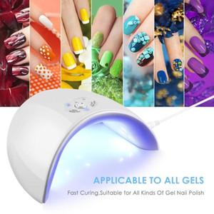 36W светодиодные лампы ногтей Gelish для всех типов 12 UV Осушитель Art нали Lamp Маникюр для домашнего использования машины Сушилки инструмент Разъем USB Гвозди