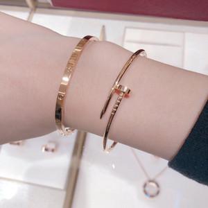 C klassisches schmale Version Diamant freies Armband einfach, modern, nie veralten, Damearmband, High-End-Qualität