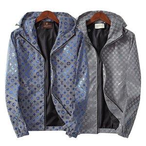 19-20 diseñador chaquetas con capucha para mujer para hombre diseñador capas de las chaquetas de otoño del resorte de la cremallera sudaderas Deportes Moda chaquetas Running Coats Y99