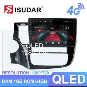 Isudar H53 4G الروبوت 1 الدين راديو السيارات لميتسوبيشي أوتلاندر 3 2012-2020 سيارة الوسائط المتعددة GPS 8 الأساسية 4GB كاميرا USB DVR IPS سيارة دي في دي