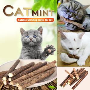 5PCS Natur Matatabi Haustier-Katzen-Snack Katze Chew-Stock-Treat Spielzeug Katzenminze Molar Mint Sticks Pet Supplies D40