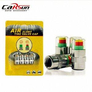Evrensel visiable 32 Psi 2.2 Bar Hava Uyarısı Uyarısı Lastik Vana Basınç Sensörü Monitör Işık kap Gösterge için Arabalar n5fF #