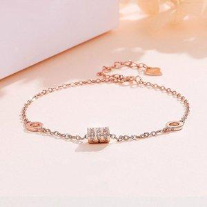 silver diamond bracelet waistline ins temperament Korean female models little red book the same paragraph jewelry accessories girlfrien