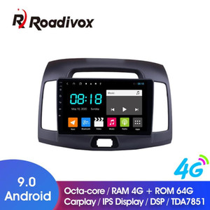 "9"" Android 9.0 4G ROM 64G Car DVD For ELANTRA 2011-2020 Car Radio Multimedia Player GPS Navigation System Head Unit"