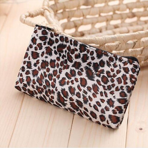 Woman Mini Cosmetic Make Up Bag Sexy Leopard Makeup Case Multi Function Storage Bags Travel Toiletry Bag Wash Kits