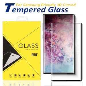 Case Friendly Glass Screen Protector for Samsung Note 20 S20 Ultra S8 S9 Plus Glass Tempered Glass Note 8 9 For huawei