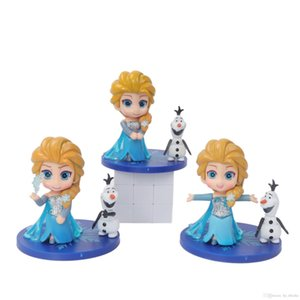 Q Posket Cake Topper Party Toys PVC Doll Action Figure Cartoon Anime Collection Model Toy Children Girl Birthday Gift