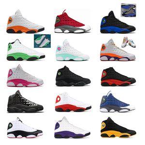 air jordan retro 13  Bred Chicago Flint baronlar Gri Erkek Basketbol Ayakkabı 13s Şapkanız He Got Game DMP Hiper Kraliyet Sneakers