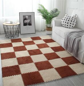 아기 매트를 등반 DIY 30 * 30 * 1cm 거실 침실 어린 아이 소프트 카펫 매직 패치 워크 직소 스플 라이스 헤드