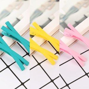 caramelle Candy net stile coreano stile elegante X-tipo clip laterale popolare rete scoppi dei capelli rotti delle donne modo semplice piccola clip di celebrità in linea