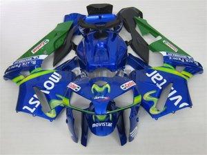 Injection Fairings kit + Geschenke für HONDA CBR600RR F5 2003 2004 2005 2006 CBR600RR F5 03 04 05 06 Körperabdeckung + Windschutzscheibe #BLUE MOVISTAR # W8J43