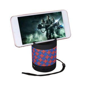 Bluetooth Hoparlör Kablosuz Emme Chuck Hoparlör Araba Hoparlör Mini MP3 Süper Bas Çağrı Telefon Tutucu Ile Dahili Lityum Pil Alma