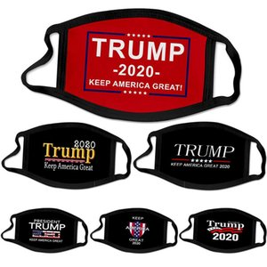 fashion face mask Trump presidential election campaigner men women reusable black face masks Trump print Protective Dustproof mask